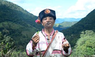 杰布鲁(基诺族)大鼓敲起来 生活美起来